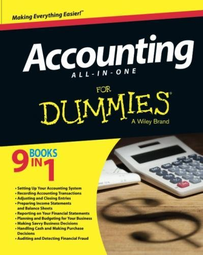 Accounting All-in-One,  (For Dummies Series)