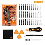 Jakemy Screwdriver Set, Precision Repair Tool Kit, All in One with 36 Magnetic Driver Bits Screwdriver Kit, Opening Tool and Tweezer for iphone X/8/7, Plus, Cell Phone, Macbook, Laptop, PC, etc