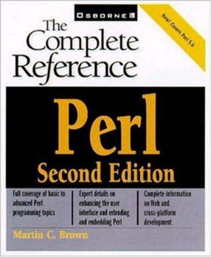 Perl ISBN-13 9780072129502