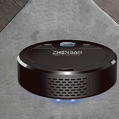 LYJIN Cleaner Robot Vaccumm, Aspirateur Robot Automatique Ménage UV Désinfection pour sols durs et Bas Tapis Animaux Cheveux