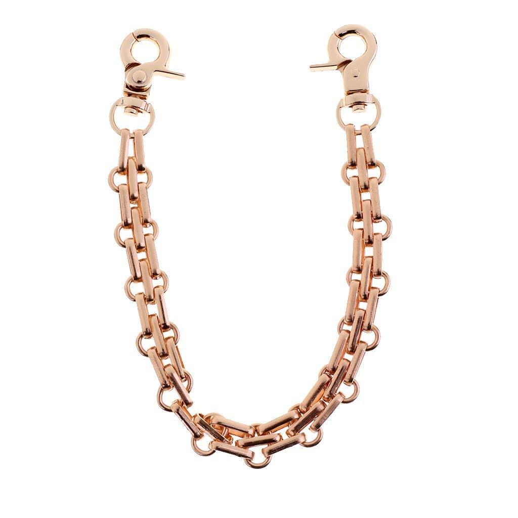 25cm Metal Fashion Removable Purse Chain Strap Wrist Strap Chain Suit for Handle Shoulder Bag Replacement Accessories Bronze