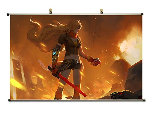 Canvas Scroll Poster inches Fire Ly0618 product image