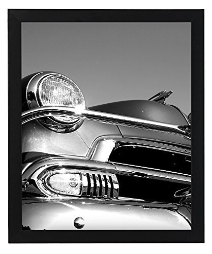 - Americanflat Poster Frame, 18x24 inches, Thick Molding, Black
