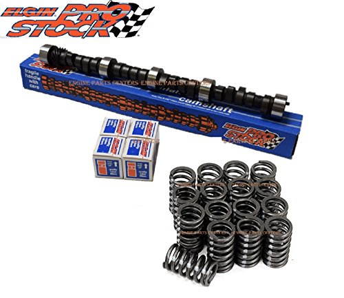 Chevy SB 283 327 350 400 Flat Tappet Camshaft/Cam+Lifters+Valve Springs Kit 274H (RV Cam) NON-Roller Engine. ()