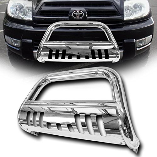 VXMOTOR - Chrome Bull Bar Push Bumper Grill Grille Guard 2003-2009 Toyota 4Runner/Lexus (Lexus Grill Guard)
