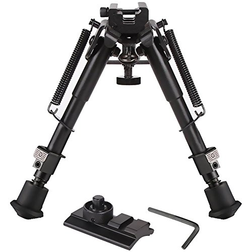 Feyachi Riflebipod 3 in 1 Hunting Tactical Rifle Bipod + Picatinny Mount/Rail Adapter+Swivel Stud Mounts