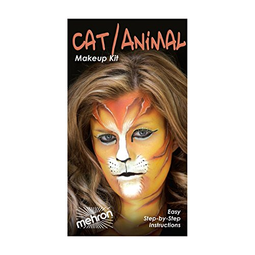 Mehron Premium Cat / Animal Character (Halloween Costume Cat Makeup)