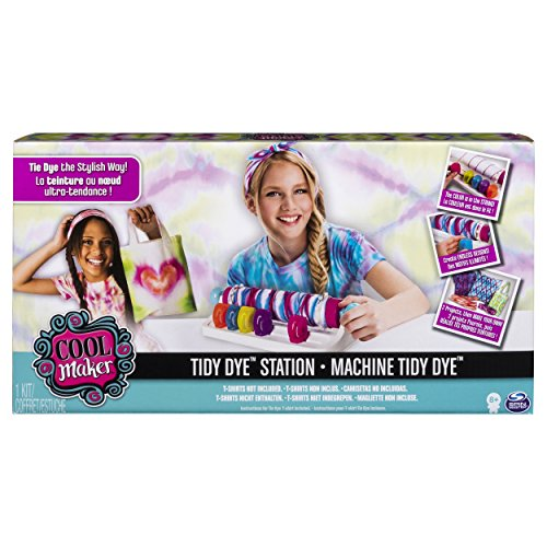 - Cool Maker, Tidy Dye Station, Fashion Activity Kit for Kids Age 8 and Up