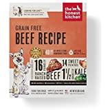 The Honest Kitchen Human Grade Dehydrated Grain Free Beef Dog Food, 10 lb - Love