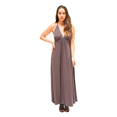 JOSA Tulum Womens Houston Maxi Dress One Size Gray