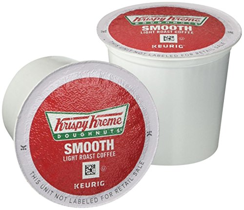 Krispy Kreme Keurig Single-Serve K-Cup Pods, Smooth Medium Roast Coffee, 24 Count
