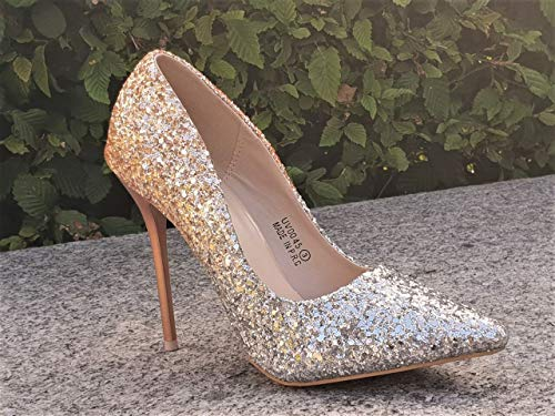 Donna Sala champagne Shoe Boutique Silver Da Box 8ngxqIC1w0