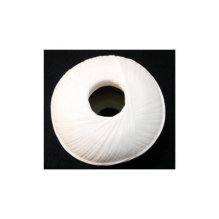TOMASELLI MERCERIA Cotone Filo di Scozia per Uncinetto Numero 16 gomitolo da Grammi 100 Nero