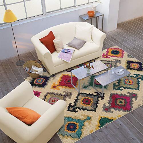 Oriental Weavers 5990Y Kaleidoscope Area Rug, 2-Feet 7-Inch by 10-Feet, Multi Colored