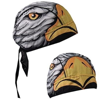 Hot Leathers Eagle Head Head Wrap (Multi): Automotive
