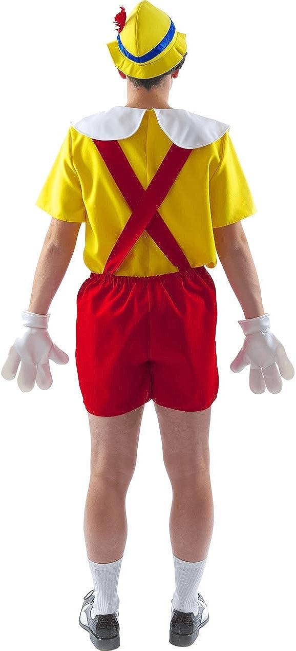 ORION COSTUMES Disfraz de Pinocho Títere de Película para Hombres ...