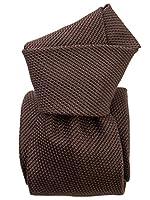 Elizabetta Men's Italian Handmade Silk Grenadine Fina Necktie, Extra Long