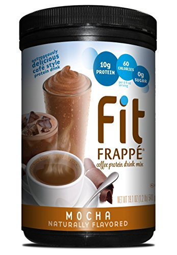 UPC 642628018694, Fit Frappe Protein Drink Mix, Mocha, 19.1 Ounce