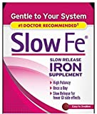 Slow Fe, High Potency Iron 45 mg, Slow Release - 60 Tablets - Pack of 6
