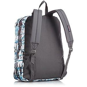 JanSport SuperBreak Backpack (MULTI BLUE SPLISH SPLASH)
