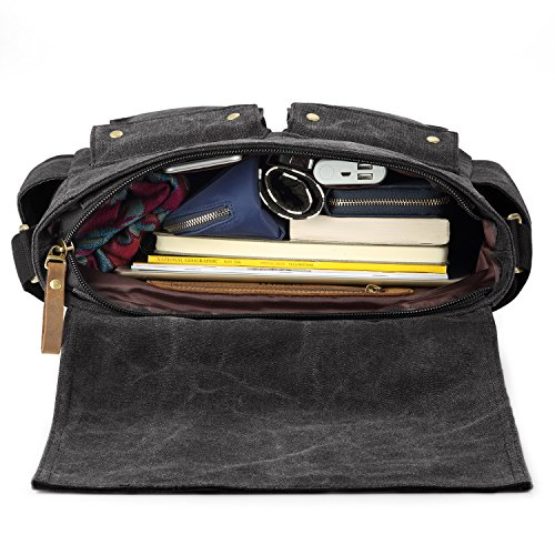 8728b6aa05 SMRITI 16 Inch Canvas Messenger Shoulder Bag Laptop Cross body - Import It  All