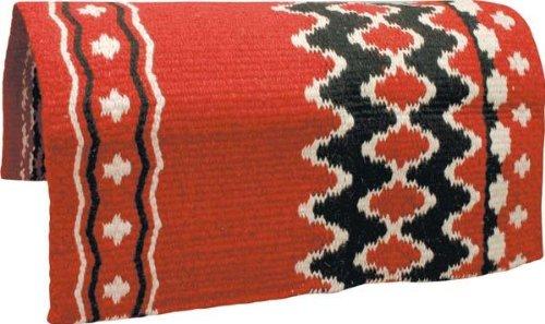 ABETTA Navajo Saddle Blanket Red 36X34