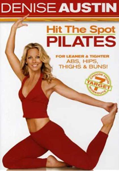 Amazon Com Hit The Spot Pilates Denise Austin Movies Tv