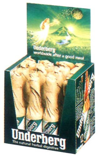 - Underberg Natural Herbal Digestive 12 bottle House Bar Pack