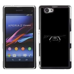 Be Good Phone Accessory // Dura Cáscara cubierta Protectora Caso Carcasa Funda de Protección para Sony Xperia Z1 Compact D5503 // Graphics Power