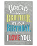 American Greetings Birthday Card for Brother (Deal With It)