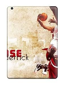 Ipad Air KavBecm974LhDMI Nba Derrick Rose Chicago Bulls Basketball Tpu Silicone Gel Case Cover. Fits Ipad Air