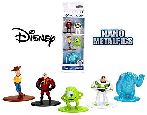 Nano Metalfigs Disney Pixar 5-Pack