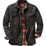 Legendary Whitetails Mens Journeyman Shirt Jacket Tarmac Small