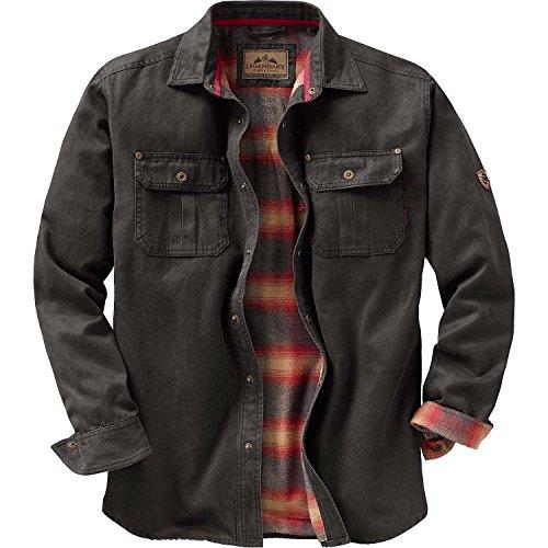 Legendary Whitetails Mens Journeyman Shirt Jacket Tarmac Large