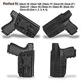 Glock 19 Holster, Concealment Express IWB Gun