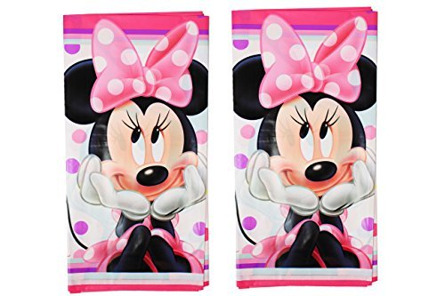 (Disney Minnie Mouse Party Pack ~ Table Cover by Minnie Mouse)