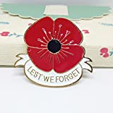 MA&SN Remembrance Day Memorial Day Gift Poppy