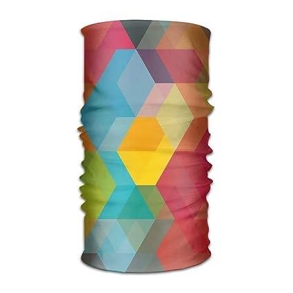 Amazon Com Judaho Headwear Abstract Color Block