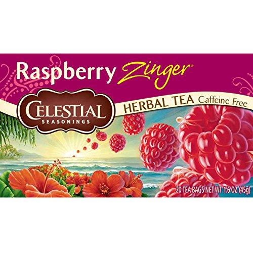 Celestial Seasonings Raspberry Zinger Herbal Tea