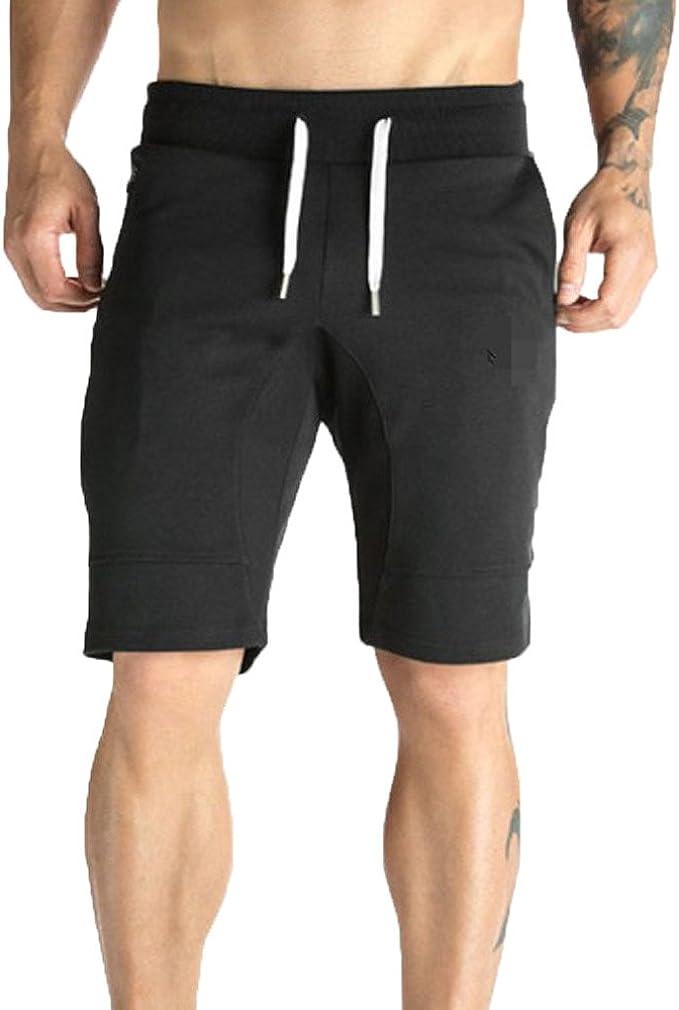 MVPKK Pantalones Cortos de Algodón Hombre Pantalones Cortos Color ...