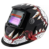 Adjust Solar Power Auto Darkening Tig Mig Grinding Welding Helmets/Face Mask/Electric Welding Mask