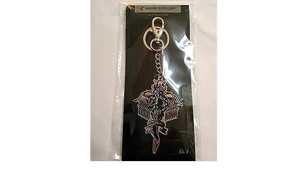 Final Fantasy Kingsglaive XV Keychain Bag Charm Square Enix Cafe Limited F/S