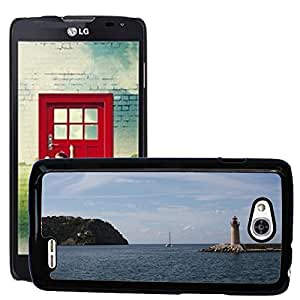 Hot Style Cell Phone PC Hard Case Cover // M00307488 Mallorca Landscape Mediterranean // LG Optimus L90 D415