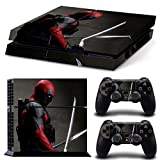 FriendlyTomato PS4 Console and DualShock 4 Controller Skin Set – SuperHero – PlayStation 4 Vinyl Review