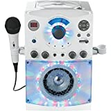 (OLD MODEL) The Singing Machine SML-385W Disco Light Karaoke System
