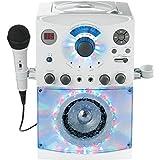 (OLD MODEL) The Singing Machine SML-385W Disco Light Karaoke System