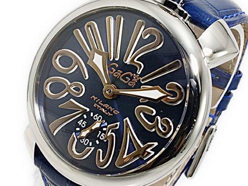 ガガミラノ マニュアーレ48 手巻き メンズ 腕時計 5010.05S-BLU [並行輸入品] B01FUNT0ES
