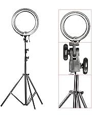 Neewer Kamera Foto Video Beleuchtung Kit:18 Zoll 75W 5500K Leuchtstoffröhre Licht, Lichtständer, Diffusor, Mini Kugelkopf und Telefonhalter für Kamera, Smartphone, Youtube, Vine, Video Aufnahme