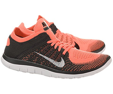 premium selection 35551 fd7d6 Nike Women s Free 4.0 Flyknit Bright Mango White Mdnght Fog Running Shoe 9  Women US - Buy Online in UAE.   Apparel Products in the UAE - See Prices,  ...