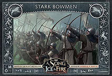 A Song of Ice /& Fire:Tabletop Miniatures Game:Stark Bowmen Unit Box SIF106
